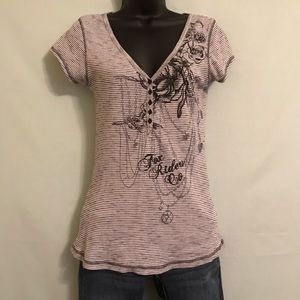 Women's Fox Rider Co v-neck shirt